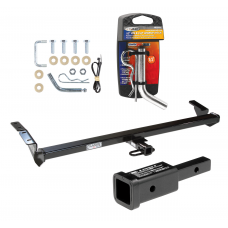 "Trailer Tow Hitch For 00-04 Toyota Avalon w/ 2"" Adapter and Pin/Clip"