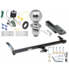 "Trailer Tow Hitch For 00-04 Toyota Avalon Complete Package w/ Wiring Draw Bar Kit and 2"" Ball"