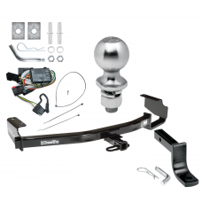 "Trailer Tow Hitch For 96-00 Chrysler Dodge Plymouth Town & Country Grand Caravan Voyager Complete Package w/ Wiring Draw Bar Kit and 2"" Ball"