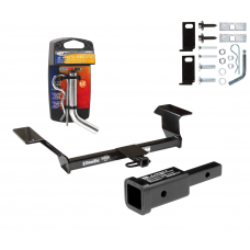 "Trailer Tow Hitch For 00-09 Buick LeSabre Lucerne Pontiac Bonneville Oldsmobile Aurora w/ 2"" Adapter and Pin/Clip"