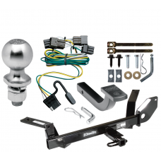 """Trailer Tow Hitch For 00-03 Ford Taurus Mercury Sable Sedan Complete Package w/ Wiring Draw Bar Kit and 2"""" Ball"""