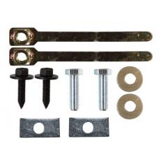 "Trailer Tow Hitch Hardware Bolt Fastener Kit 00-06 Ford Taurus 00-05 Mercury Sable 2"" Receiver"