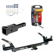 "Trailer Tow Hitch For 04-08 Chevy Malibu 4 Dr. Classic LS LT SS Class 2 w/ 2"" Adapter and Pin/Clip"