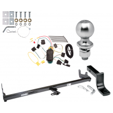 "Trailer Tow Hitch For 04-07 Ford Freestar Mercury Monterey Class 2 Complete Package w/ Wiring Draw Bar Kit and 2"" Ball"