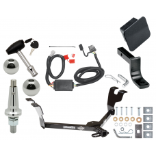 """Trailer Tow Hitch For 05-07 Subaru Legacy 05-09 Outback Wagon Ultimate Package w/ Wiring Draw Bar Kit Interchange 2"""" 1-7/8"""" Ball Lock and Cover"""