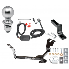"""Trailer Tow Hitch For 05-07 Subaru Legacy 05-09 Outback Wagon Complete Package w/ Wiring Draw Bar Kit and 2"""" Ball"""