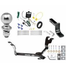 """Trailer Tow Hitch For 05-09 Subaru Legacy 05-07 Outback Sedan Complete Package w/ Wiring Draw Bar Kit and 2"""" Ball"""