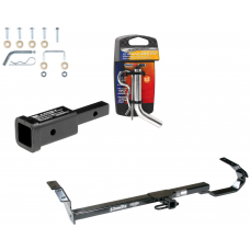 "Trailer Tow Hitch For 92-06 Toyota Camry Avalon Solara Lexus ES300 ES330 w/ 2"" Adapter and Pin/Clip"