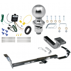 "Trailer Tow Hitch For 97-06 Lexus ES300 ES330 4 Dr. 92-96 Toyota Camry Complete Package w/ Wiring Draw Bar Kit and 2"" Ball"