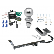 "Trailer Tow Hitch For 95-99 Toyota Avalon 99-03 Solara Complete Package w/ Wiring Draw Bar Kit and 2"" Ball"
