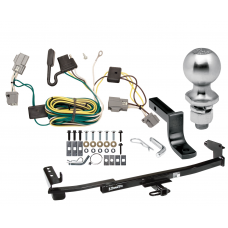 "Trailer Tow Hitch For 05-07 Ford Five Hundred Freestyle Complete Package w/ Wiring Draw Bar Kit and 2"" Ball"