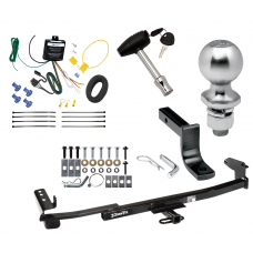 """Trailer Tow Hitch For 05-07 Mercury Montego Complete Package w/ Wiring Draw Bar Kit and 2"""" Ball"""