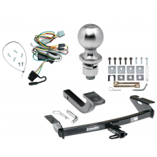 "Trailer Tow Hitch For 97-09 Chevy Venture Oldsmobile Silhouette Complete Package w/ Wiring Draw Bar Kit and 2"" Ball"