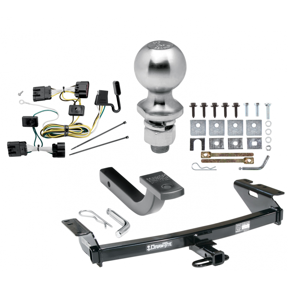 [ANLQ_8698]  Trailer Tow Hitch For 05-09 Chevy Uplander Pontiac Montana SV6 05-07 Saturn  Relay Buick Terraza Complete Package w/ Wiring Draw Bar Kit and 2
