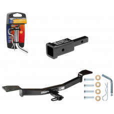 "Trailer Tow Hitch For 05-10 KIA Sportage 05-09 Hyundai Tucson w/ 2"" Adapter and Pin/Clip"