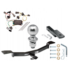 "Trailer Tow Hitch For 05-09 Hyundai Tucson Complete Package w/ Wiring Draw Bar Kit and 2"" Ball"