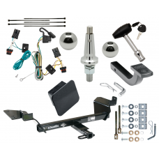 """Trailer Tow Hitch For 05-09 Buick LaCrosse Except Super Ultimate Package w/ Wiring Draw Bar Kit Interchange 2"""" 1-7/8"""" Ball Lock and Cover"""