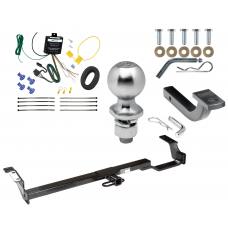 "Trailer Tow Hitch For 07-08 Toyota Solara Complete Package w/ Wiring Draw Bar Kit and 2"" Ball"