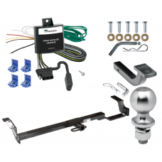 "Trailer Tow Hitch For 04-06 Toyota Solara Complete Package w/ Wiring Draw Bar Kit and 2"" Ball"