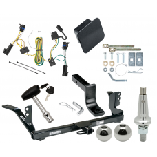 """Trailer Tow Hitch For 04-07 Chevy Maxx LS LT Ultimate Package w/ Wiring Draw Bar Kit Interchange 2"""" 1-7/8"""" Ball Lock and Cover"""