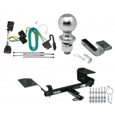 "Trailer Tow Hitch For 06-13 Chevy Impala Complete Package w/ Wiring Draw Bar Kit and 2"" Ball"