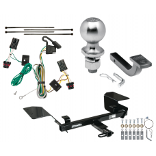 "Trailer Tow Hitch For 00-05 Chevy Impala Complete Package w/ Wiring Draw Bar Kit and 2"" Ball"