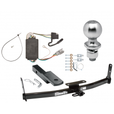 "Trailer Tow Hitch For 05-06 Chevy Equinox 06 Pontiac Torrent Complete Package w/ Wiring Draw Bar Kit and 2"" Ball"