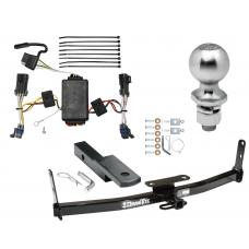"Trailer Tow Hitch For 02-07 Saturn Vue Except Redline Complete Package w/ Wiring Draw Bar Kit and 2"" Ball"
