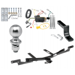 """Trailer Tow Hitch For 07-09 Toyota Camry 4 Dr. Sedan Except Hybrid Complete Package w/ Wiring Draw Bar Kit and 2"""" Ball"""