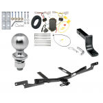 """Trailer Tow Hitch For 07-12 Lexus ES350 Complete Package w/ Wiring Draw Bar Kit and 2"""" Ball"""