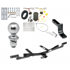 "Trailer Tow Hitch For 07-12 Lexus ES350 Complete Package w/ Wiring Draw Bar Kit and 2"" Ball"