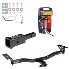"""Trailer Tow Hitch For 07-12 Mazda CX-7 w/ 2"""" Adapter and Pin/Clip"""