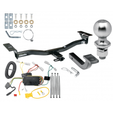"""Trailer Tow Hitch For 07-12 Mazda CX-7 Complete Package w/ Wiring Draw Bar Kit and 2"""" Ball"""
