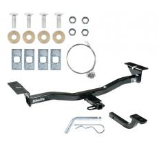 """Trailer Tow Hitch For 07-12 Mazda CX-7 All Styles 1-1/4"""" Receiver w/ Draw Bar Kit"""