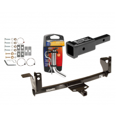 "Trailer Tow Hitch For 05-09 Pontiac G6 w/ 2"" Adapter and Pin/Clip"