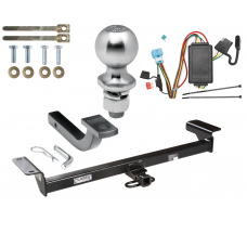 "Trailer Tow Hitch For 07-09 Acura RDX Complete Package w/ Wiring Draw Bar Kit and 2"" Ball"