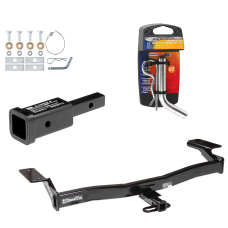 "Trailer Tow Hitch For 07-10 Ford Edge Lincoln MKX w/ 2"" Adapter and Pin/Clip"