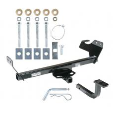 Trailer Tow Hitch For 07-10 Chrysler Sebring Dodge Avenger Receiver w/ Draw Bar Kit