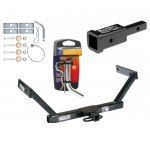 """Trailer Tow Hitch For 07-16 Volvo S80 Sedan w/ 2"""" Adapter and Pin/Clip"""