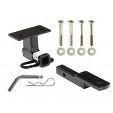 Trailer Tow Hitch For 09-18 VW Volkswagen Tiguan Receiver w/ Draw Bar Kit