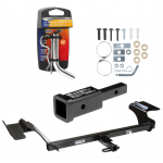 """Trailer Tow Hitch For 09-16 Lincoln MKS w/ 2"""" Adapter and Pin/Clip"""