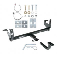 Trailer Tow Hitch For 07-09 Saturn Aura 08-12 Chevy Malibu and LTZ w/ Draw Bar Kit