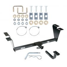 "Trailer Tow Hitch For 10-19 Ford Taurus Sedan 1-1/4"" Receiver w/ Draw Bar Kit"