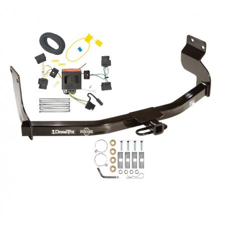 Trailer Tow Hitch w/ Wiring Kit For 08-12 Ford Escape Mazda Tribute 05-11 Mercury Mariner