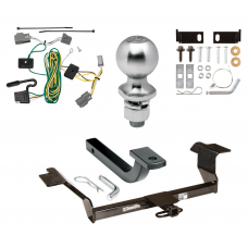 """Trailer Tow Hitch For 08-11 Buick Lucerne Class 2 08-11 Buick Lucerne Class 2 Complete Package w/ Wiring Draw Bar Kit and 2"""" Ball"""