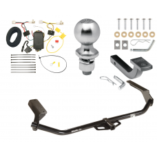 "Trailer Tow Hitch For 09-16 Toyota Venza Class 2 Complete Package w/ Wiring Draw Bar Kit and 2"" Ball"