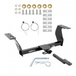 "Trailer Tow Hitch For 14-18 Subaru Forester All Styles 1 1/4"" Receiver w/ Draw Bar Kit"