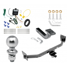 "Trailer Tow Hitch For 14-17 KIA Rondo Canada Only Complete Package w/ Wiring Draw Bar Kit and 2"" Ball"