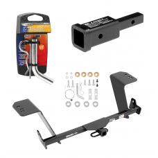 "Trailer Tow Hitch For 13-18 Lexus ES350 Except Hybrid w/ 2"" Adapter and Pin/Clip"