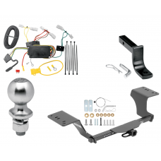 """Trailer Tow Hitch For 12-19 Toyota Camry Class 2 Complete Package w/ Wiring Draw Bar Kit and 2"""" Ball"""